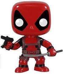 POP Marvel: Deadpool Vinyl Bobble-head Figure ... - Amazon.com