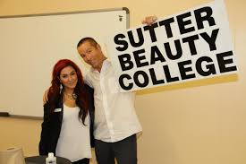 photo gallery sutter beauty college one of our students jason maloney and marc allen from good day sacramento