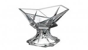 ORIGAMI <b>Конфетница 22 см Crystalite</b> Bohemia на ножке купить