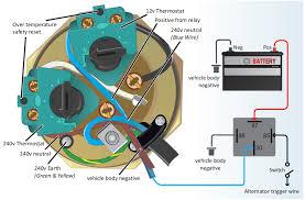 surejust > surecal 12v 240v motorhome water heater immersion 12v 240v motor home connection instructions