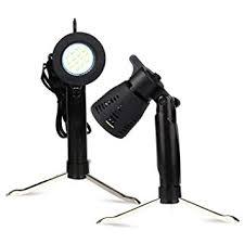 2 PCS Photography Continuous LED <b>Portable</b> Light Lamp <b>for</b> Table ...