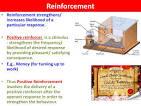 reinforcement (psychology)
