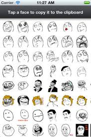Rage Faces for SMS on the App Store via Relatably.com