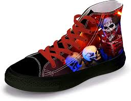 FIRST DANCE Skull Shoes for Men Fashion Sneaker ... - Amazon.com