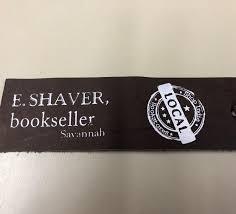 E. Shaver <b>Leather Bookmark</b>   E. Shaver, Bookseller