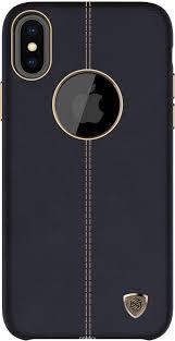Купить <b>Чехол Nillkin</b> Englon Leather Cover для Apple iPhone X в ...
