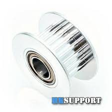 4 x <b>20T</b> 5mm Bore 6mm GT2 Timing belt Idler Pulley with Bearing ...