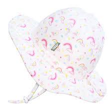 <b>Kids</b>' Gro-With-Me® Cotton Floppy Hat   <b>Rainbow</b> - JAN & JUL by ...