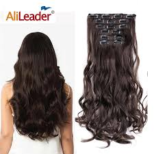 "<b>Alileader</b> Ombre 24"" <b>U</b> part Synthetic Wavy Wig <b>230g</b> Ladies Hair 3 ..."