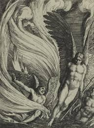 biblion frankenstein essay moeck satan rising from the burning lake an illustration from paradise lost by john milton a series of twelve illustrations 1896