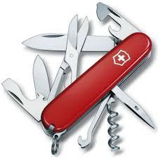 Нож <b>Victorinox 1.3703 CLIMBER</b>, 91 мм., красный — купить в ...