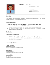 resume format for it jobs resume format  sample