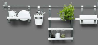 grundtal wall shelf ikea kitchen utensil rack