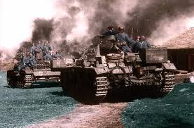 Resultado de imagen para segunda guerra mundial a color