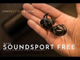 <b>Bose Soundsport Free</b> - TRULY Wireless Earphones - REVIEW ...