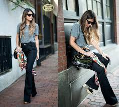 <b>Брюки клеш</b> 2019: модные тренды, стильные модели, тенденции ...