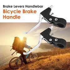 <b>1pair MTB Mountain</b> Bike Folding Aluminum Bicycle Brake Handle ...