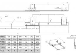 <b>Направляющие для клавиатуры</b> шариковые H=27мм <b>350 мм</b>., цинк