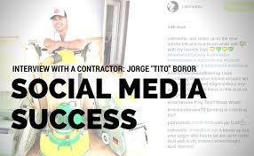 social media success for wood flooring contractors interview a contractor social media success