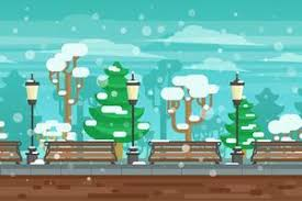 <b>Winter Landscape</b> Free Vector Art - (30,171 Free Downloads)
