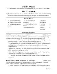 hvac technician resume sample monster com hvac technician sample resume