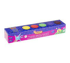 <b>Краски пальчиковые</b>, 5 цветов по 35 мл | Купить с доставкой | My ...