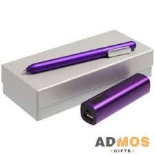 <b>Набор Topper</b>, фиолетовый оптом под нанесение , Арт ...