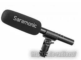 Профессиональный <b>микрофон</b>-пушка <b>Saramonic</b> SR-TM1