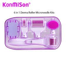 <b>Original DRS 6</b> in 1 Derma Roller Microneedle Kits For Multiple Skin ...