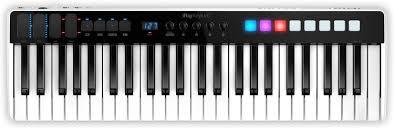 <b>IK Multimedia iRig Keys</b> I/O 49 49-key Keyboard Controller with ...