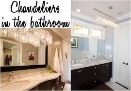 small bathroom chandelier crystal ideas: fascinating small bathroom chandelier crystal magnificent small home decoration ideas