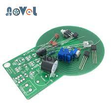 DC 3V-5V <b>Metal Detector</b> DIY Kit <b>Non</b>-<b>contact</b> Sensor Moudle Power ...