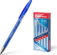 Недорогие синие <b>ручки ErichKrause</b> — купить на OZON с ...