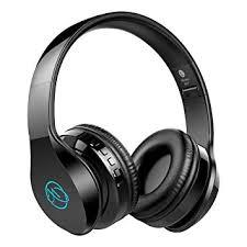 XXWECO Wireless <b>Bluetooth</b> 4.2 <b>Headphones LED</b> Foldable ...