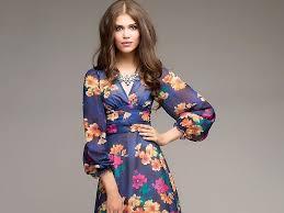 Нежные и романтичные <b>платья</b> с цветочным <b>принтом</b> | Мода от ...