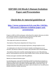 uop bio week human evolution paper and presentation pdf report spam or adult content