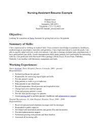 cna resume builder  cna certified nursing assistant resume sample    sample of cna nursing assistant resume