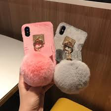 Best Price High quality <b>cute rabbit</b> fur ball iphone list and get free ...