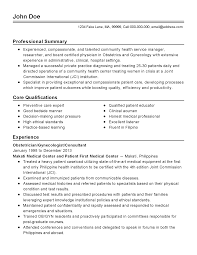 professional gynecologist templates to showcase your talent resume templates gynecologist