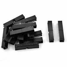 15 Pcs 30-Pin <b>Double Dual</b> Row Straight PCB Box Header ...