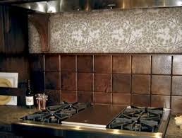 copper kitchen backsplash appliances hand hammered copper tiles make unique kitchen backsplash a luxury hou