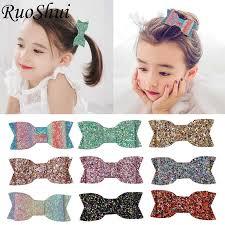 20 Colors <b>2.75 Inch</b> Grosgrain Ribbon Bow Hair Accessories Girls ...