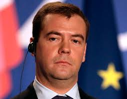 epa01550550 Dmitri Medvedev , President of the Russian Federation looks on during the press conference at the European Union-Russia Summit at the Palais ... - g-cvr-090303-Dmitri-Medvedev-1250a
