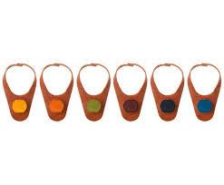 Набор из 6 <b>маркеров</b>-<b>пробок для бутылки</b> Mona от <b>Vacu</b> Vin ...