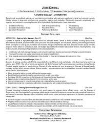 resume example cateringbc  jpgcatering resume example