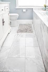 white bathroom floor:  ideas about bathroom floor tiles on pinterest backsplash tile wall tiles and bathroom flooring