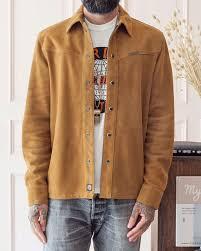 Indigofera Austin Nubuck Shirt (wear well, visvim, freewheelers, larry ...