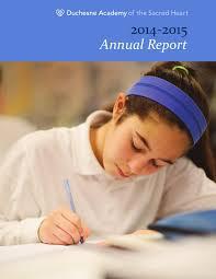 duchesne academy annual report by duchesne academy issuu