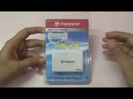 <b>USB 3.0 Card Reader</b> Transcend RDF8 Review - YouTube