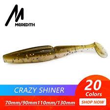 Meredith Crazy Shiner Fishing <b>Lure</b> 70mm <b>90mm</b> 110mm 130mm ...